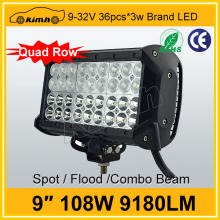 Super Brightness Brand chip 9'' 108W super 4x4 off road lights