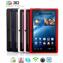 electronic stock lots 7inch tablet pc q88 allwinner a13 android4.0 android4.2 mini pc mid