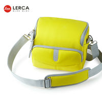 New Design Waterproof Professional Yellow Digital Camera Bag For Nikon Canon For Girls For Women