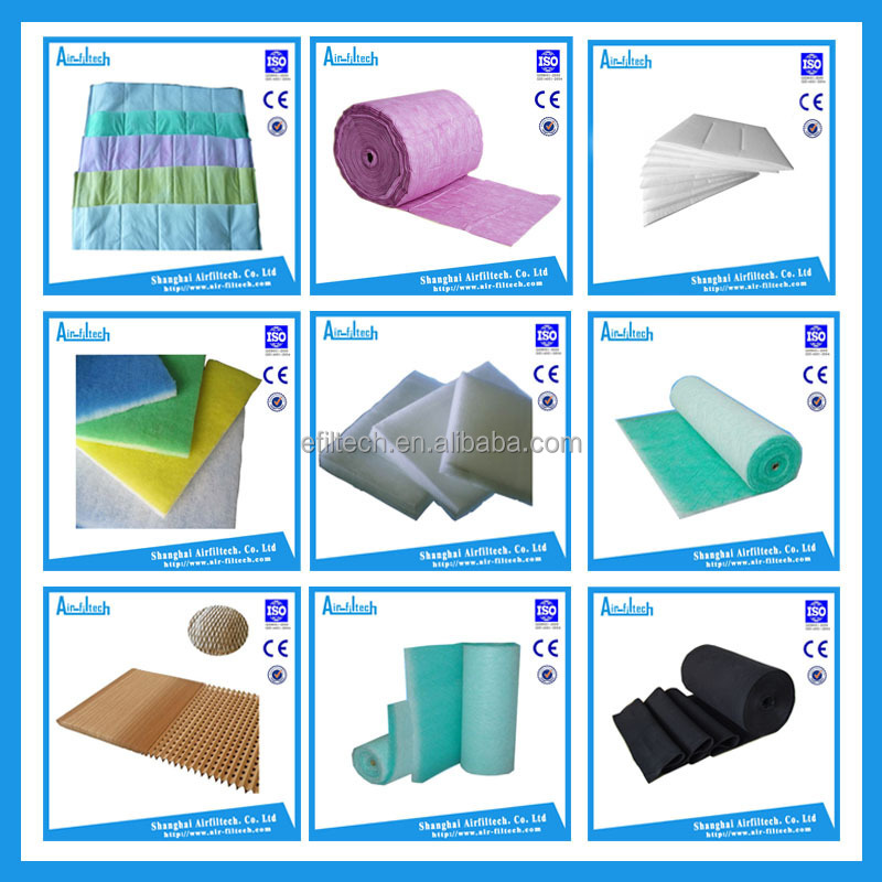 Supplier of G1-G4 vacuum dacron rolls filter material