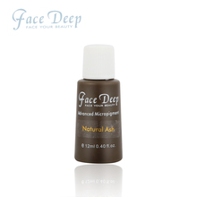 12 Ml/Bottle Natural Ash Face Deep Permanent Makeup Semi Cream For Microblading And Shading