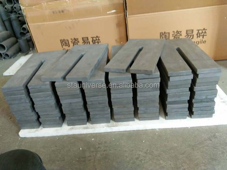 1360C kiln furniture reaction bonded silicon carbide plate RBSIC plate