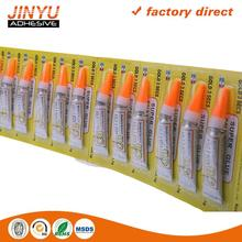 Hot sale Strong adhesive automatic 502 super glue/cyanoacrylate adhesive