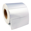 "Sliver PET Label 100x50mm Matte barcode sticker roll 1"" core free shipping"