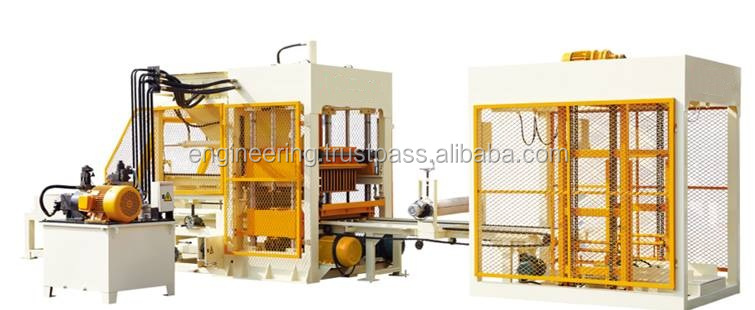 LTP QT6 Automatic Block Making Machine