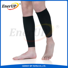 copper injected nylon shin guard compression leg support for sports
