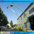 12m 16m CE hydraulic articulated boom lift table