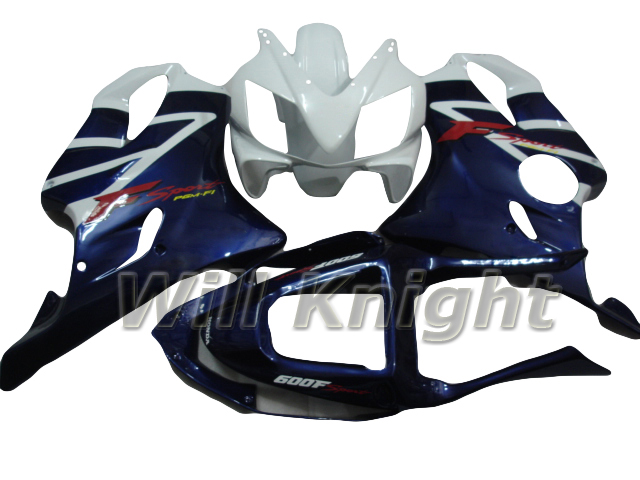 Blue White Motorcycle Body Frame for Honda CBR F4I 2001 2002 2003 Fairing CBR600RR