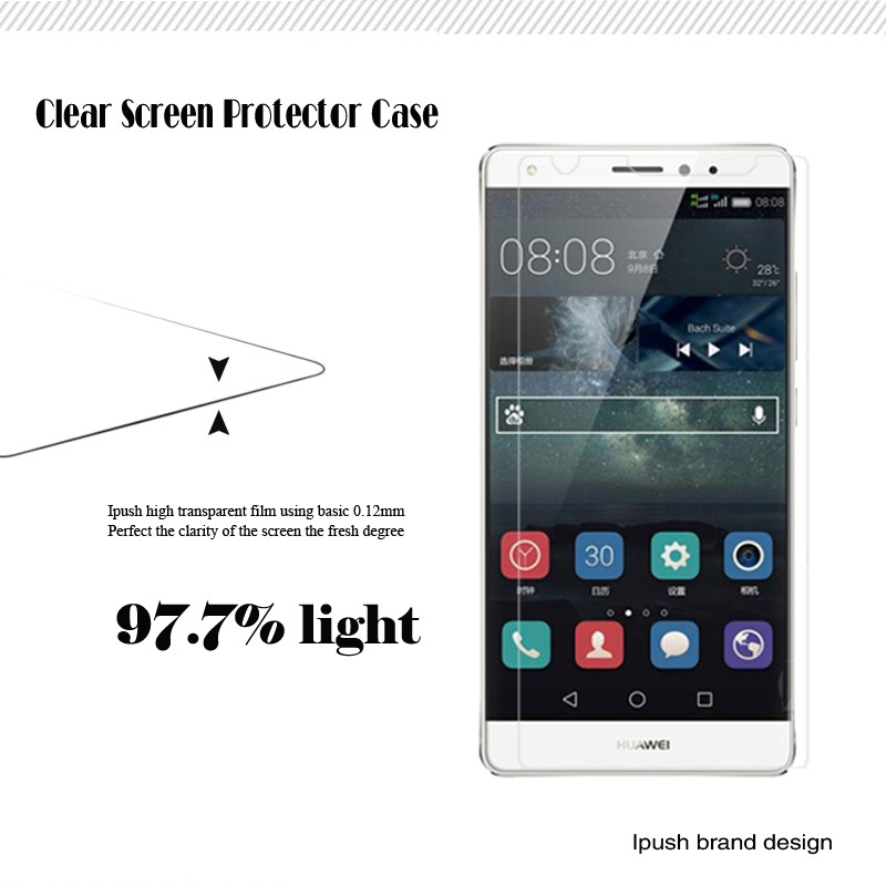 Free Sample Transparent clear Screen Protector For ZET Blade V8 Pro