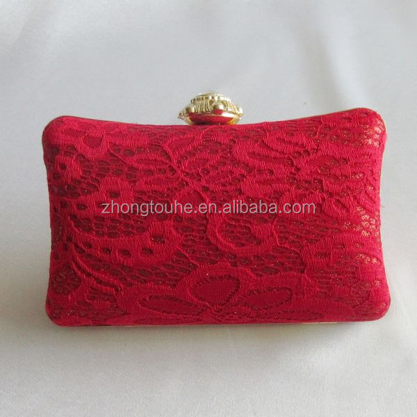 2014 fashion leather evening bags
