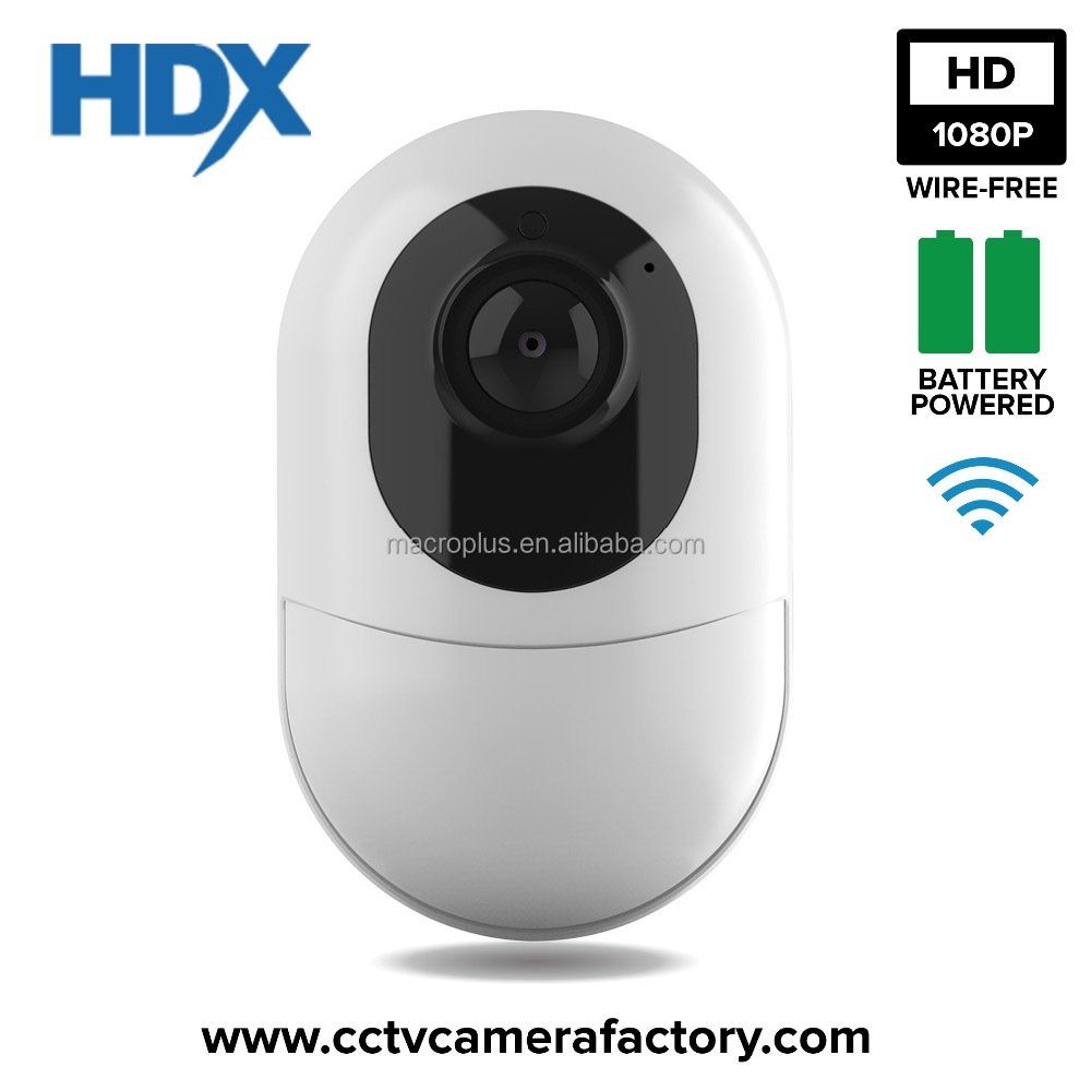 Wire Free Home Security Camera -<strong>Wifi</strong>, Wide Angle, Rechargeable, Battery Powered, Motion Alarm, Full Duplex Audio, HD 1080P, IP65