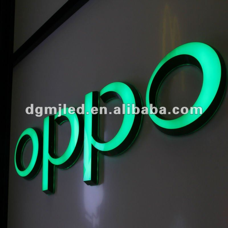 Music OPPO Brand Luminous word