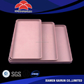 China best quality New Different Color & Sizes eco-friendly custom plastic tray