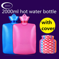 Resuable hot water bottle hand warmer cover