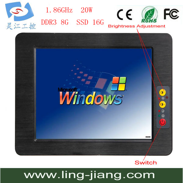 Best seller 12.1 inch tablet PC, PPC-121C, Mini PC/HDMI/WINDOW XP/WIN 7/1080P