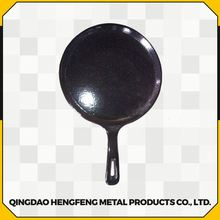 Eco-friendly oil coated commercial porcelain cast iron cookware
