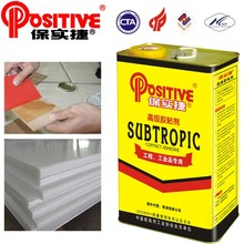 Adhesive glue for PVC wood making