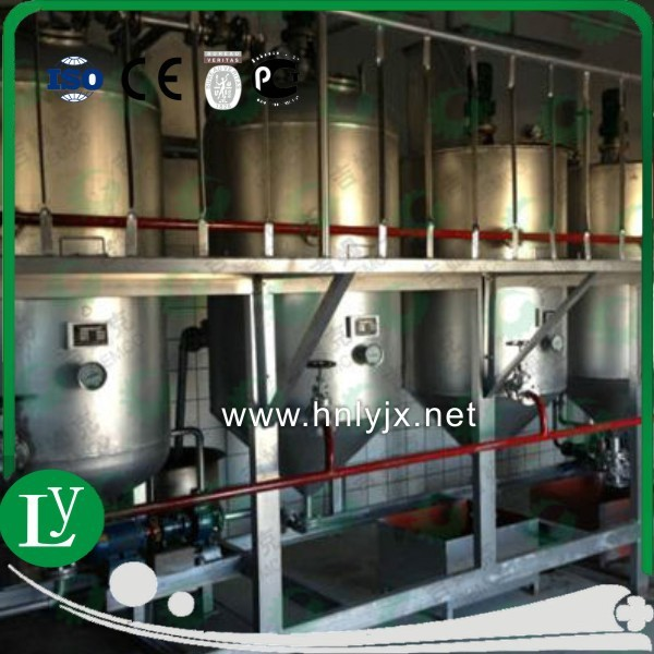 lowest price for Nigeria palm oil fractionation plant from China manufacturer