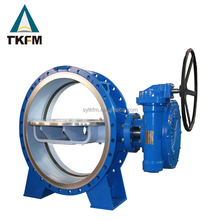 China supplier TKFM dn50-dn600 cf8 flange end high pressure butterfly valve for irrigation