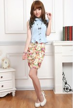 New China ladies dress short skirts