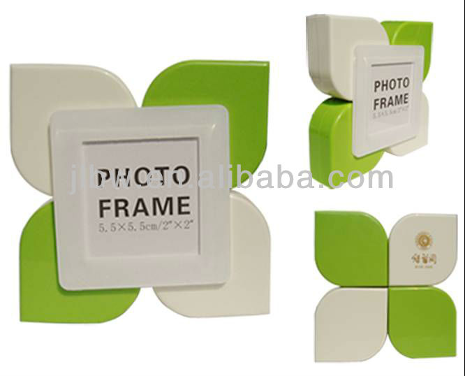 Beautiful fleur flower petal shape photo frame picture frame
