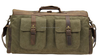 Iblue Oversized Leather Canvas Casual Travel Satchel Luggage Duffel Handbag