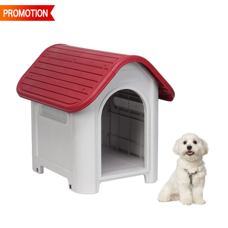 Dog House Pet Outdoor Weather All Durable Shelter Kennel Doghouse
