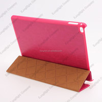 Sleep Wake Magnetic PU Leather Stand Smart Cover Back Case For Apple iPad air 2
