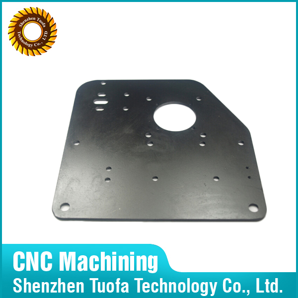 CNC Machining Steel 45# Q235 A3 Plate Parts by Laser Cutting Service