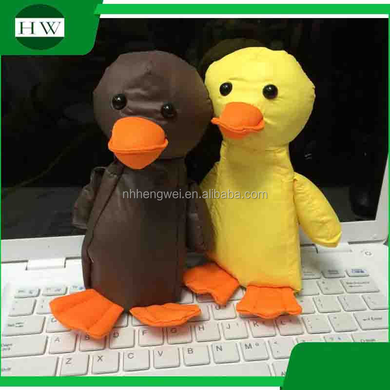 ECO polyester duck shaped bag duck shopping bag
