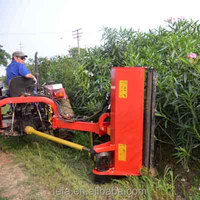 Tractor Tow Behind Hydraulic Grass Cutter machine