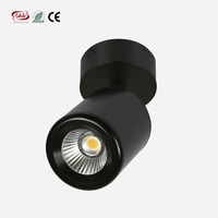 360D adjustable turn7W/9W LED Wall Lamp led spot downlight,cob led ceiling light