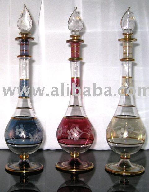 Sell WholeSale lot 1000 mouth blown handcrafted Egyptian Perfume Bottles