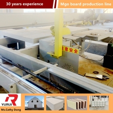 automatic magnesium oxide board cuting machine waterproof mgo board production line