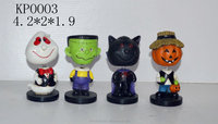 halloween accessory , spring head series , resin crafts