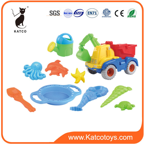 Funny Summer Set Plastic Outdoor Toy Car Sand Beach Toy For Kids