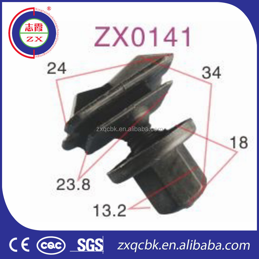 Wholesale clips auto/car floor mat fasteners/auto plastic clips fasteners for car