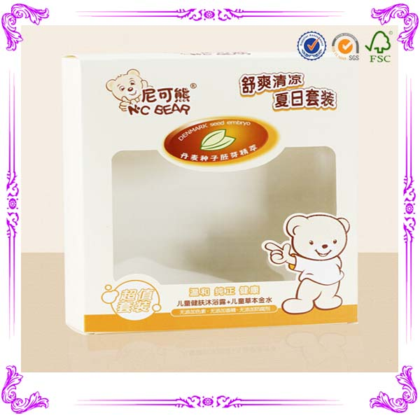 top quality clear plastic soap packaging boxes