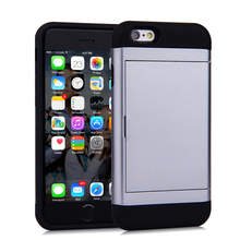 Mobile Phone Accessories TPU + PC Cellphone Back Cover Protective Case Cover for iPhone 6 / 6S