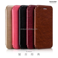 HOCO Retro PU Leather Open case cover skin For iPhone 6 (4.7-inch)