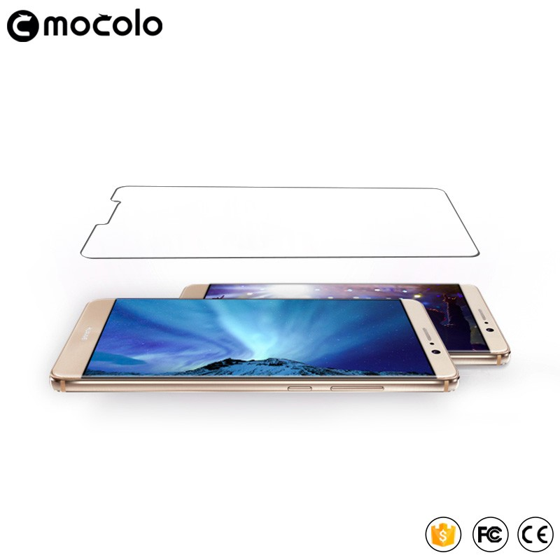 Anti fingerprint Coating anti-glare 9H 2.5D 0.33mm high transparent Tempered Glass screen protector for Mate9