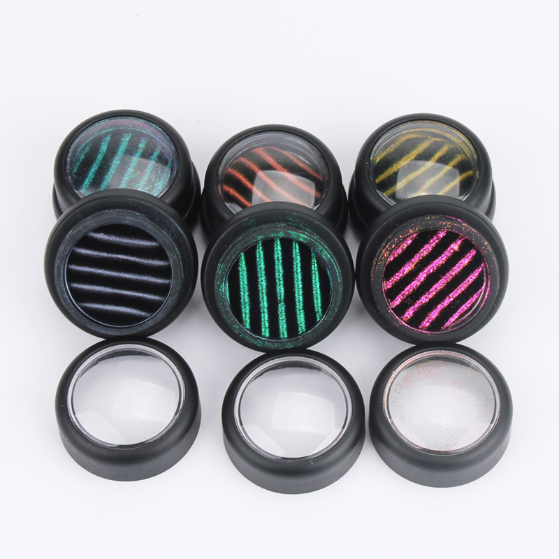 Top Suppliers cat eye 3D magnetic mirror effect powder for magneto powder set