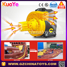 CE UL high quality air blower for inflatable bouncy castle slide with deflate function