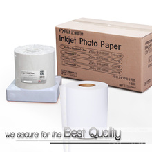 High glossy portrait landscape panorama photo paper for Noritsu Canon Epson printers