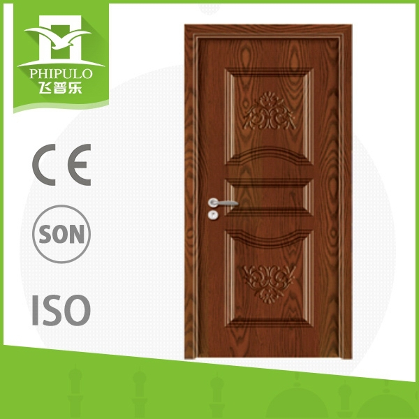 Fashion luxury main design melamine homes solid wood door from china