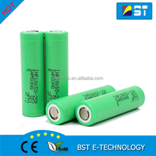 Genuine Samsung 18650 25R 2500mAh 3.7V Authentic inr18650 25r high power mod battery