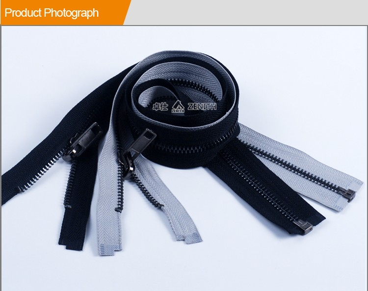 Best Quality Metal Zipper with Reversible puller for Jacket ZM10013