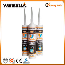 High Temperature Clear Silicone Sealant Neutral Acetic