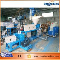PE PP pelletizing line| PE PP film granulating recycling plant| plastic recycling machine