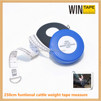 Eco friendly Zebu/Jersey Cow/Pig Weight customized Tape Measure customized your brand elastic measuring tool